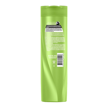Sunsilk Lively Clean and Fresh Shampoo 320ml back of pack image