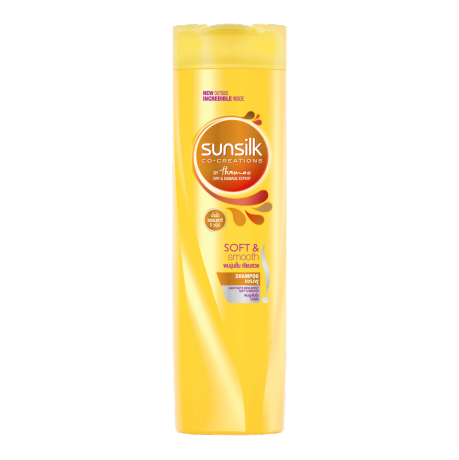 Sunsilk Soft and Smooth Shampoo 320ml front of pack image